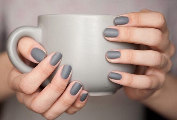 Αποτέλεσμα εικόνας για Nude  - Γκρι - Μπεζ. . nails