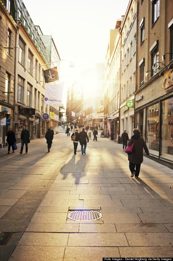 Sweden, Goteborg, Street view