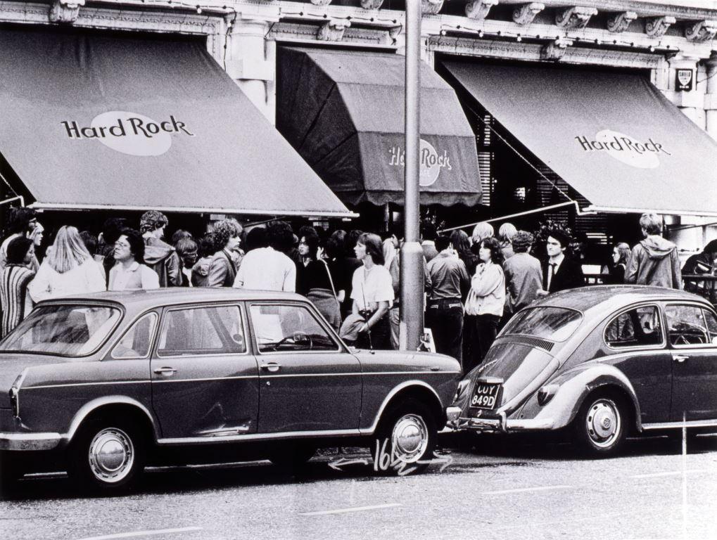 Hard Rock Cafe London - Vintage Shot