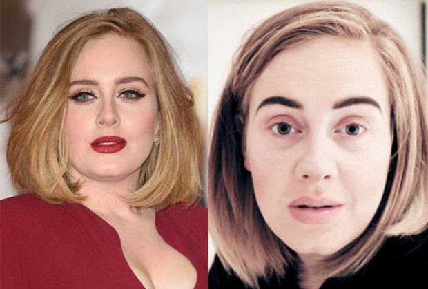 Έτσι είναι κάποιες από τις αγαπημένες σου celebrities, με και χωρίς μακιγιάζ!