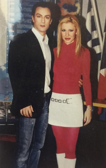 sakis2 - Επικές φωτογραφίες που μαρτυρούν πως ήταν ο Σάκης Τανιμανίδης πριν από 13 χρόνια!