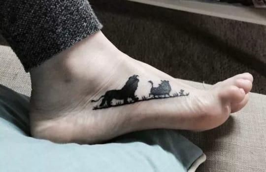 tattoo1 - 20 πανέμορφα τατουάζ που είναι εμπνευσμένα από πασίγνωστες ταινίες!