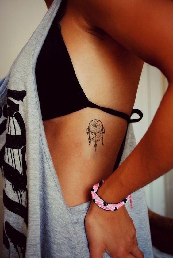 dream catcher - Ήλιους και θάλασσες | 13 πανέμορφα τατουάζ για κάθε κοπέλα που λατρεύει το καλοκαίρι!