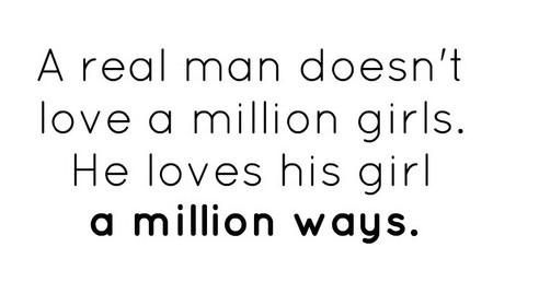 Δέκα τρόποι ξέρεις ότι βγαίνεις με έναν αληθινό άντρα.