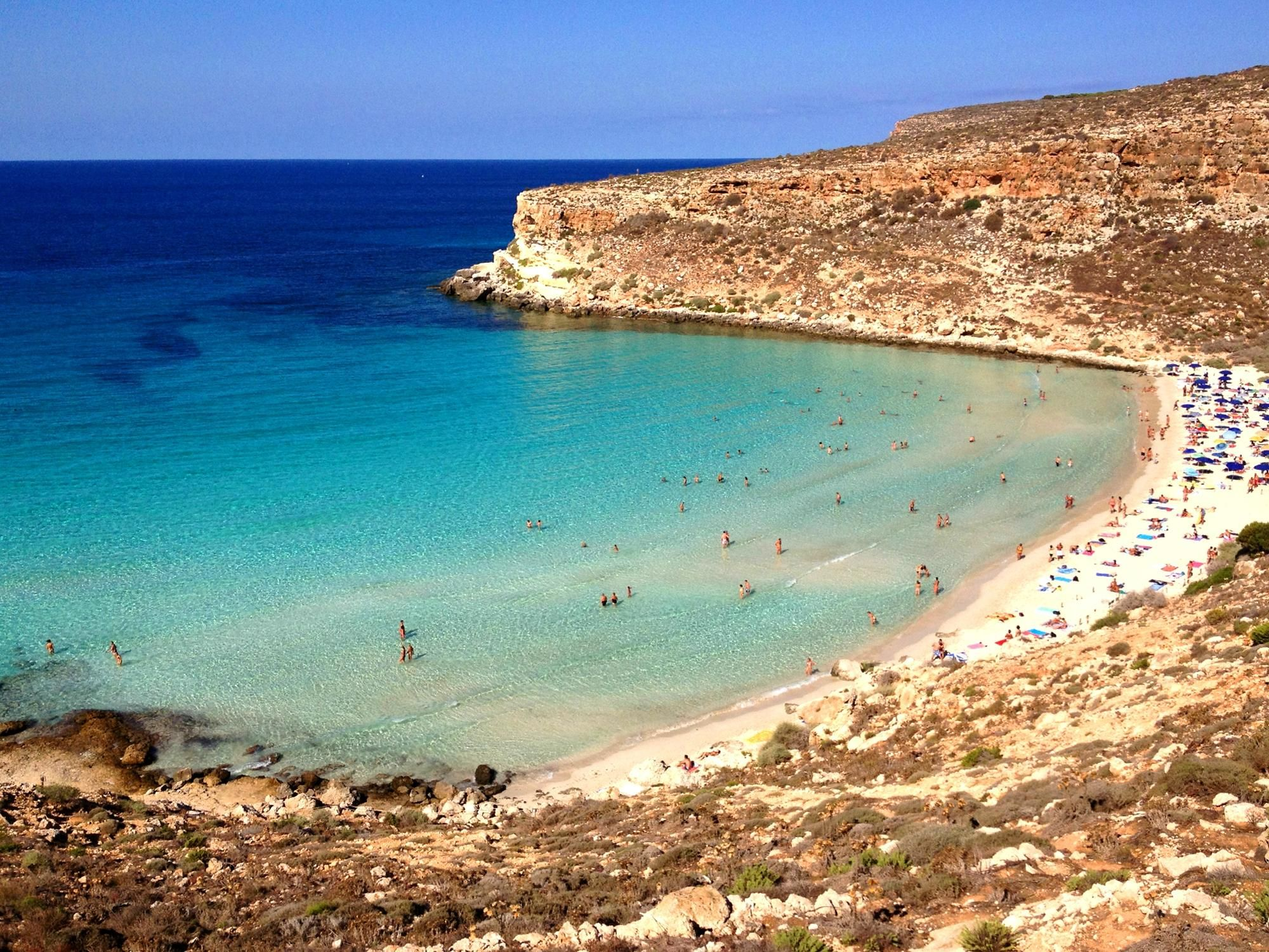 spiaggia Discover Greece in the UK