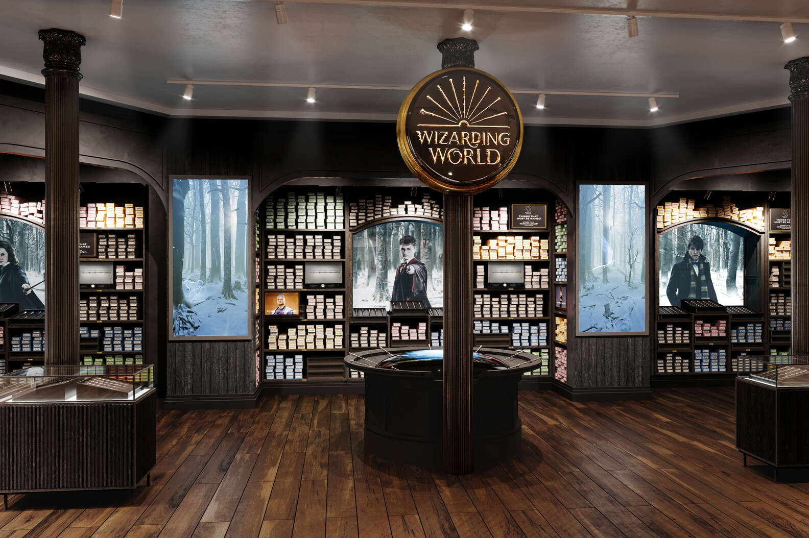 To μεγαλύτερο κατάστημα Harry Potter ανοίγει στη Νέα Υόρκη!